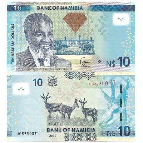 Namibie - Pk N° 10 - Billet de banque de 10 Dollars