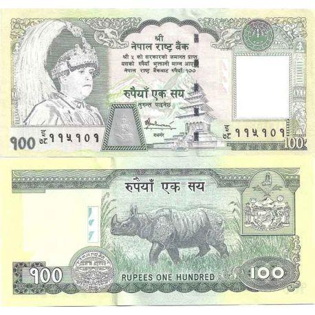 Nepal - Pk N° 57 - Billet de banque de 100 Rupees