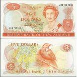 Collezione di banconote Nuova Zelanda Pick numero 171 - 5 Dollar