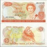 Sammlung von Banknoten Neuseeland Pick Nummer 171 - 5 Dollar
