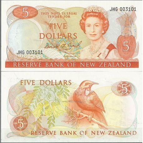 Nlle Zelande - Pk N° 171 - Billet de banque de 5 Cupon