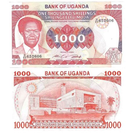 Billets de collection Ouganda - Pk N° 23A - Billet de banque de 1000 Shillings Billets d'Ouganda 29,00 €