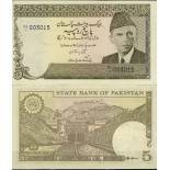 Pakistan - Pk N° 33 - Billet de banque de 5 Ruppees