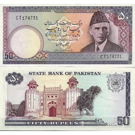 Pakistan - Pk N° 40 - Billet de banque de 50 Ruppee