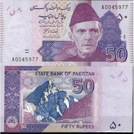 Pakistan - Pk N° 47 - Billet de banque de 50 Ruppee