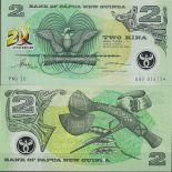Banknoten Sammlung Papua-Neuguinea Pick Nummer 15 - 2 Kina 1995