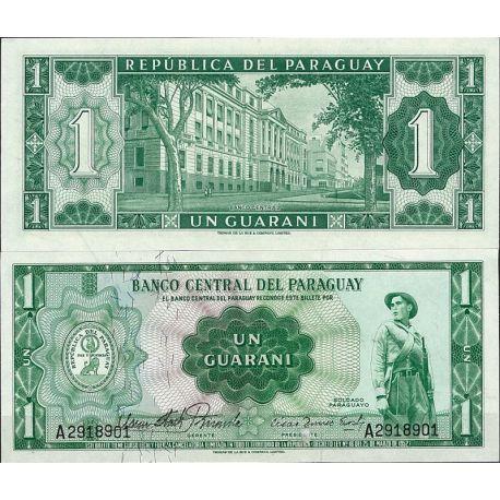Billet de banque Paraguay Pk N° 192 - de 1 Guaranis