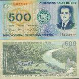 Precioso de billetes Perú Pick número 115 - 500 Sol