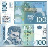 Banknote Serbia Pick N° 49 - of 100 Dinara