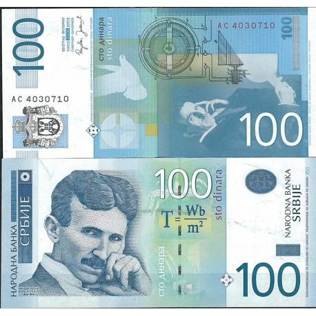 Serbie - Pk N° 49 - Billet de banque de 100 Dinara