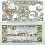 Colección Billetes Sudán Pick número 16 - 25 Livre