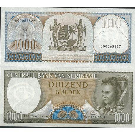 Billet de banque Surinam Pk N° 124B - de 1000 Gulden