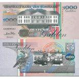 Billet de banque Surinam Pk N° 141B - de 1000 Gulden