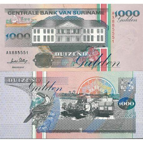 Surinam - Pk N° 141B - Billet de banque de 1000 Gulden