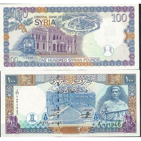Billets de collection Billet de banque Syrie Pk N° 108 - de 100 Pounds Billets de Syrie 7,00 €