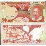 Billet de banque Tanzanie Pk N° 19 - de 50 Shilings