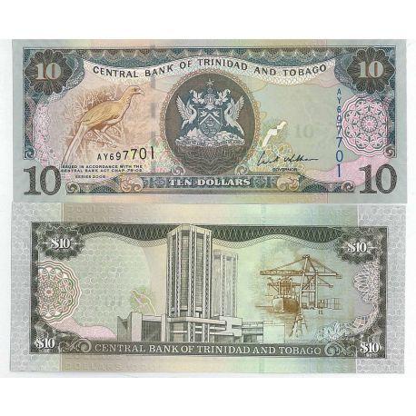 Trinite et Tobago - Pk N° 9999 - Billet de banque de 10 Dollars