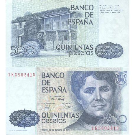 Billets de collection Billets de collection Espagne Pk N° 157 - 500 Pesetas Billets d'Espagne 36,00 €