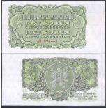 Billets de collection Tchecoslovaquie Pk N° 80A - 5 Korun