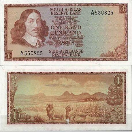 Afrique Du Sud - Pk N° 109A - Billet de banque de 1 Rand