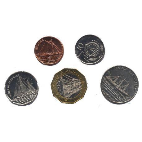 Cap Vert - Série de 5 pièces différentes