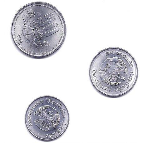 Laos - Série de 3 pièces différentes