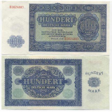 Billets de collection Allemagne Est Pk N° 15 - 100 Mark