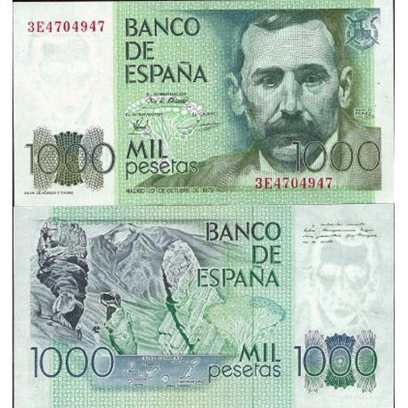 Billets de collection Espagne Pk N° 158 - 1000 Pesetas