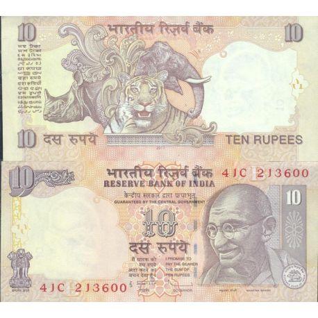 Inde - Pk N° 96 - Billet de 10 Ruppee