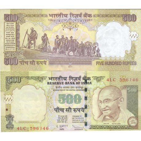 Billets de collection Inde Pk N° 99 - 500 Rupee