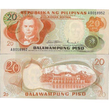 Billets de collection Billets de collection Philippines Pk N° 149 - 20 Pesos Billets des Philippines 3,00 €