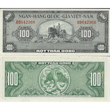 Vietnam Sud - Pk N° 8 - Billet de 100 Dong