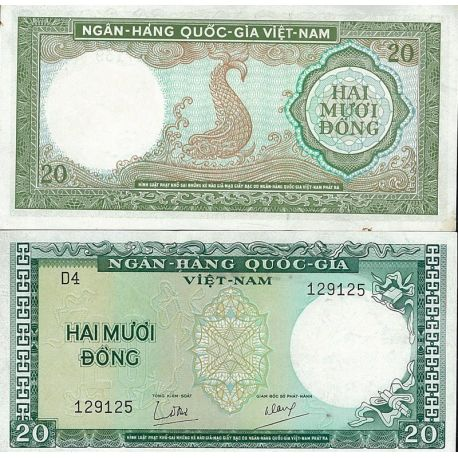 Vietnam Sud - Pk N° 16 - Billet de 20 Dong