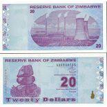 Billets de collection Zimbabwe Pk N° 95 - 50 Dollars