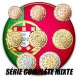 Portugal - Serie completa de 8 valores años mezclados