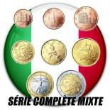 Italien - vollständige Serie von 8 Werten vermischte Jahre