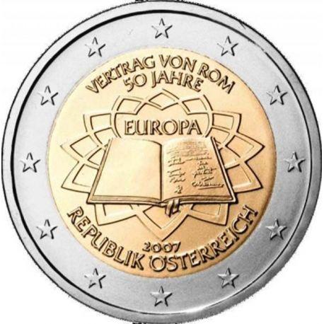 Autriche - 2 Euro Traité de Rome - 2007