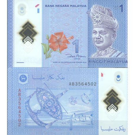 Billets de banque Malaisie Pk N° 9999 - 1 Ringgit