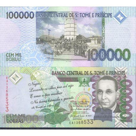 Billets de collection Billets de banque Saint Thomas & Prince Pk N° 999 - 100 000 Dobras Billets de Saint Thomas et Prince 41...