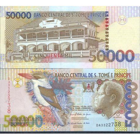 Billets de collection Billets de banque Saint Thomas & Prince Pk N° 68 - 50 000 Dobras Billets de Saint Thomas et Prince 24,00 €