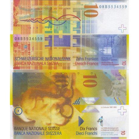 Billets de banque Suisse Pk N° 67 - 10 Francs
