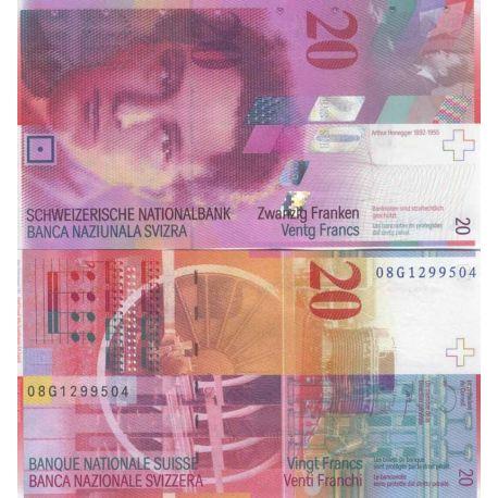 Suisse - Pk N° 69 - Billet de 20 Francs