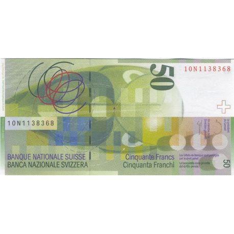 Suisse - Pk N° 71 - Billet de 50 Francs