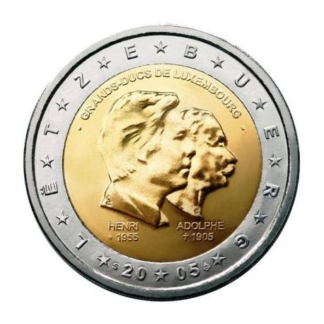 Luxembourg - 2 Euro commémorative - 2005