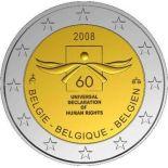 Belgien - 2 Euro Gedächtnis- - 2008