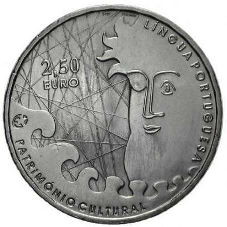 Portugal - 2,5 Euro Littérature portugaise - 2009 - Belle epreuve