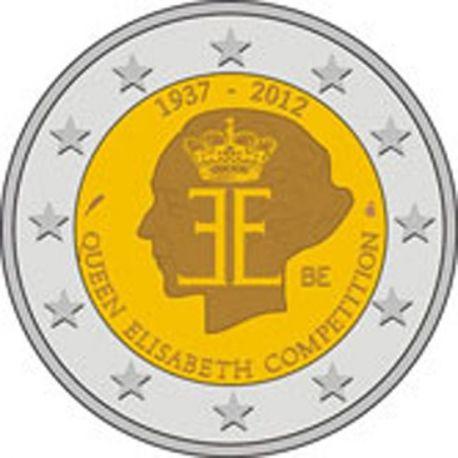 Belgique - 2 Euro commémorative - 2012
