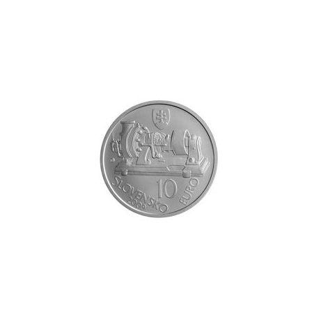 Slovaquie - 10 Euro argent - 2009 - Aurel Stodola