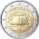 Griechenland - 2 Euro Vertrag von Rom - 2007