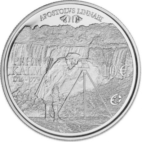 Finlande - 10 Euro Argent Pehr Kalm - 2011